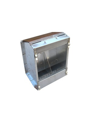 DOUBLE SLOT RABBIT FEEDER